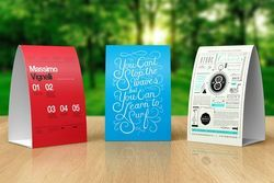 Paper Tent Card Printing Service