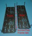 Number Plate Frame Four Wheeler