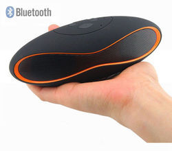 Portable Rugby Wireless Bluetooth Mini Stereo Speaker FM Rad
