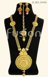 Traditional Antique Long Necklace Set