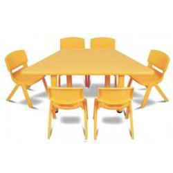 Trapezium Kids Table