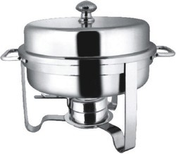 Chafing Dish Round Lift Top