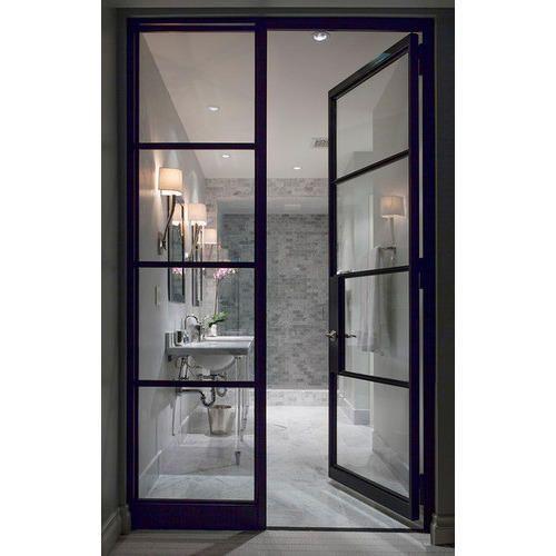 Aluminium bathroom door at rs 3000 piece aluminum for Aluminium bathroom door designs