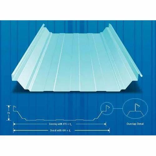 Steel Stainless Steel Steelfab Standing Seam Roof Sheet