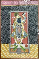 Shreenath Ji Painting