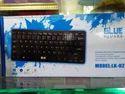 Blue Square Key Board