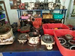 Concrete Mixer Hydraulic Pump Service