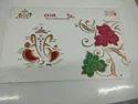 Simple God Ganapati Wedding Card