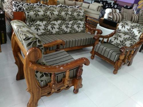 Sofa Set Teak Wood Hereo Sofa