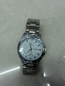S S Round Dial Watch
