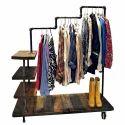 Triple Level Garment Rack