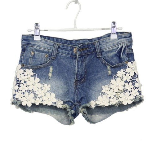 Floral Shorts Womens