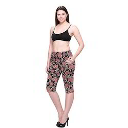 Ladies Designer Capri