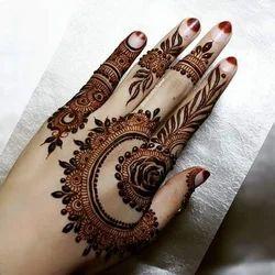 Minimalist Mehndi Pattern Designer