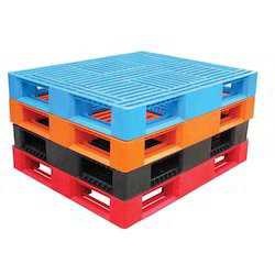 Blue Plastic Pallets, For Storage