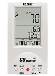 Desktop Carbon Monoxide Monitor