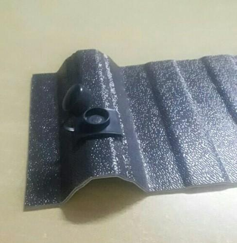 UPVC Traford Profile grey colour  Roofing Sheets