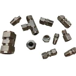 Instrumentation Double Ferrule Tube Fittings, Size: 1/8 To 1 Inch