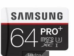 Samsung Micro 64 GB Class 10 Memory Card