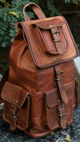 Hand Made Unisex Leather Tourist Bag