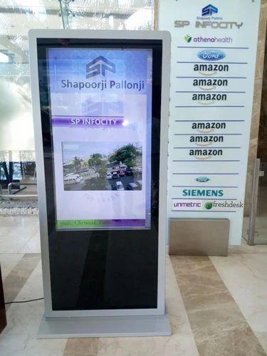 Kiosk - Advertising Touch Screen Kiosk Manufacturer from Chennai