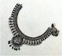 Women 925 Antiqe Silver Necklace, 60-900 Gram