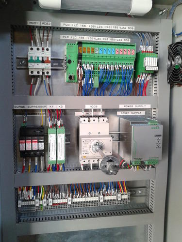 Plc Control Panel At Rs 15000 Piece