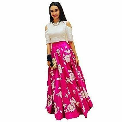 Western Lehenga Party Wear Lehenga Lehenga Choli लह ग Harshit Dresses Surat Id 13508734533