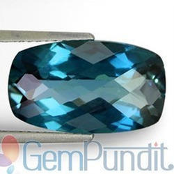 6.83 Carats London Blue Topaz