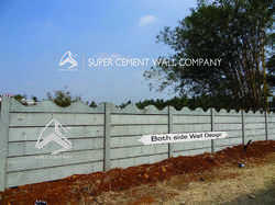 Readymade Concrete Boundary Wall Compound