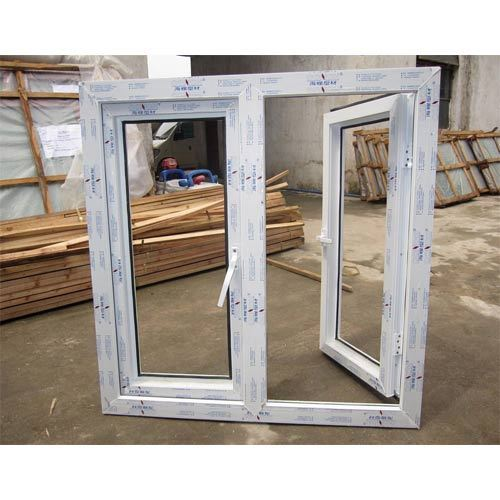 Wite UPVC Sliding Window