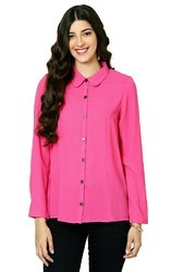 Cotton Casual Shirts for Girls, Size: S to XL