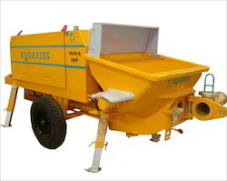 Stationary concrete Pump Rental Service 1407