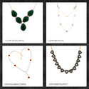 Designer Gemstone Necklace Jewelry