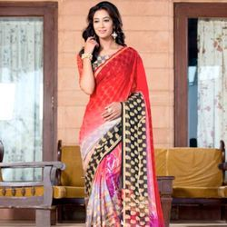 Cotton Border Saree