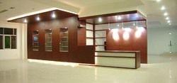 Office Reception Interior Design and Decoration Service