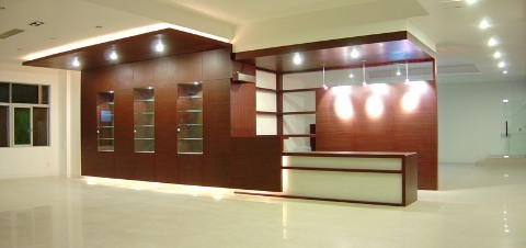 Office Reception Interior Design And Decoration in Malad West ...