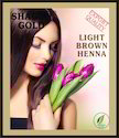 Shagun Gold Natural Light Brown Mehandi, For Personal