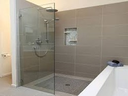 Good Bathroom Glass Partition