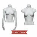 Fiberglass Standard Adams Mannequins Female Torso Mannequins, Headless(y/n): Yes