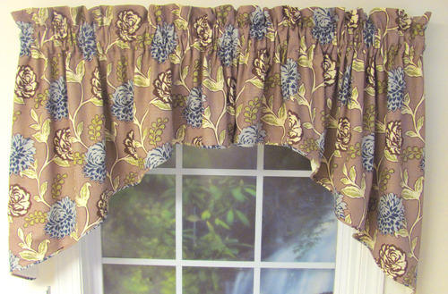 Corded Swag Valance Curtain