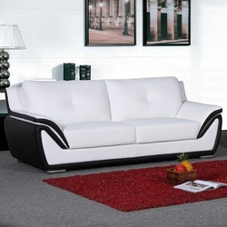 Snazzy 3 Seater Leather Sofa