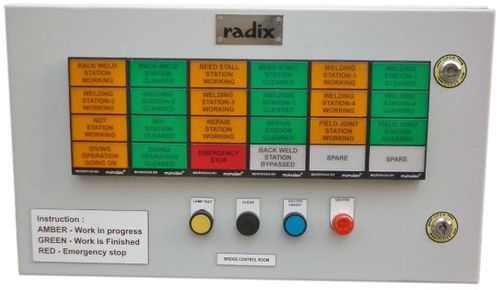 Control Panel Annunciator Panels Producers From Mumbai