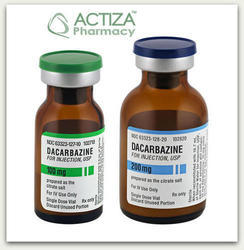 Dacarbazine Injection, for Hospital, Packaging Type: Vial