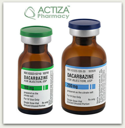 Dacarbazine Injection, As Directed By Physician, For ... Dacarbazine