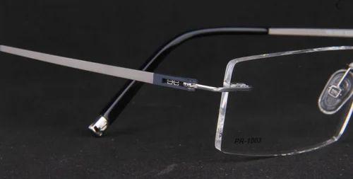 bcebc725f978 Rimless Titanium Frame