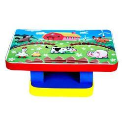 Cutez Farm Animal Printed Activity Table