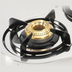 Brass Gas Burner Cap, Size: Big
