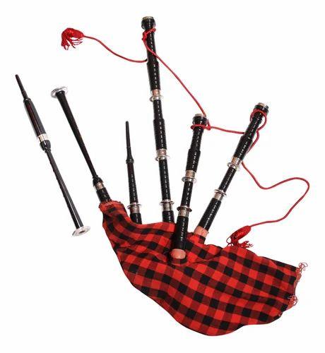 Musical Rosewood Bagpipes