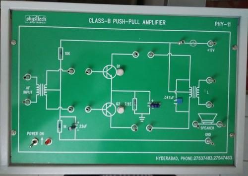 Amplifier Circuits Trainers - FET Amplifier Trainer